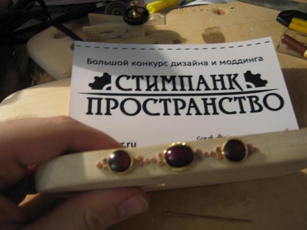 Steampunk компьютерная мышь. (Фото 7)