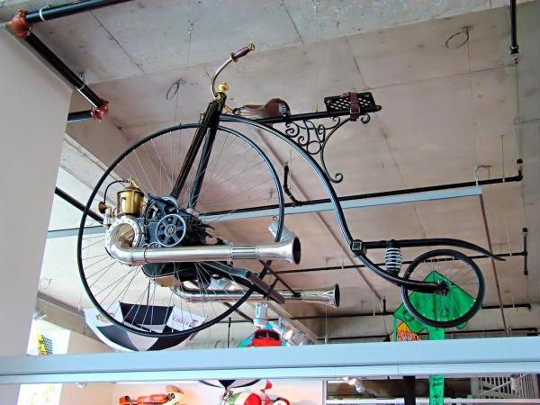 Велосипеды и паровые бициклы: фантазия и реальность (Фото 4)