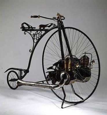 Велосипеды и паровые бициклы: фантазия и реальность (Фото 2)