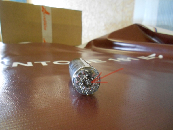 Как на лампочке сделать отверстие