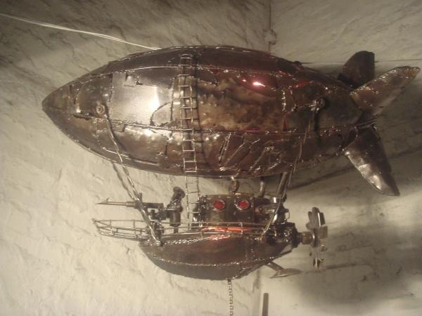 китобойный дирижабль призрак
