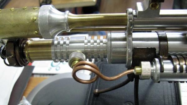 ПневмоСтимПанк винтовка. (Фото 10)