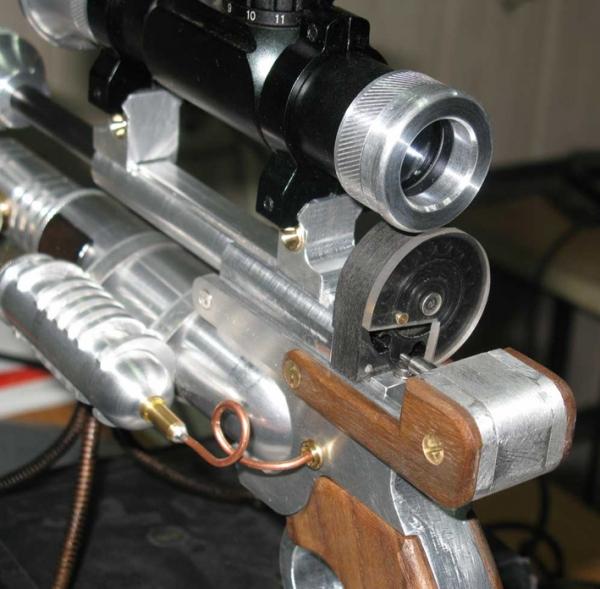 ПневмоСтимПанк винтовка. (Фото 4)