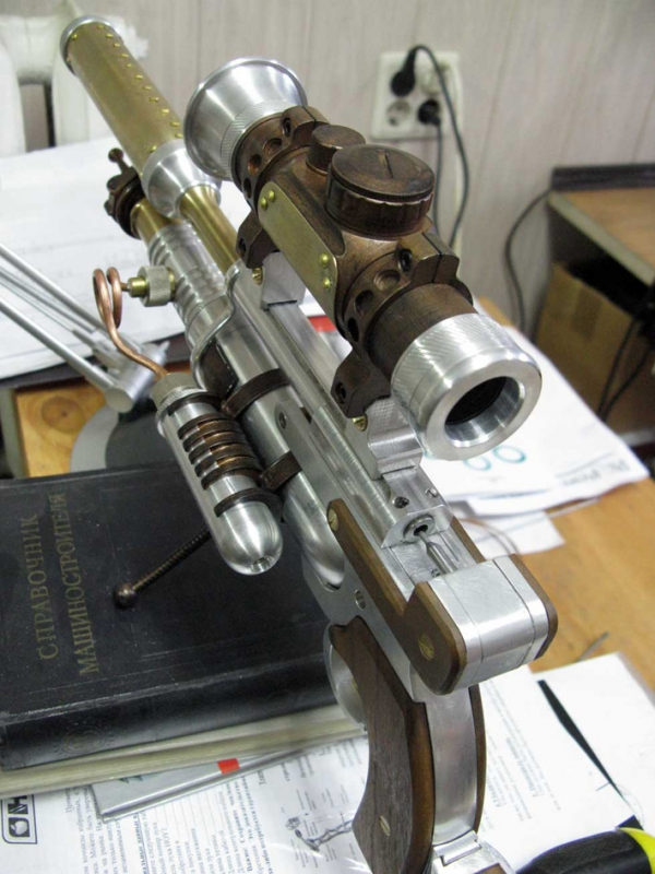 ПневмоСтимПанк винтовка. (Фото 9)