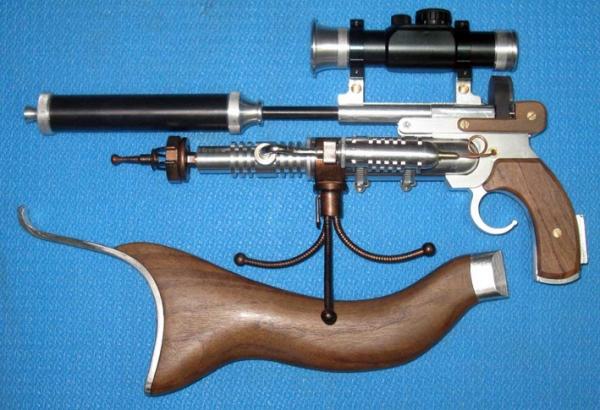 ПневмоСтимПанк винтовка. (Фото 2)