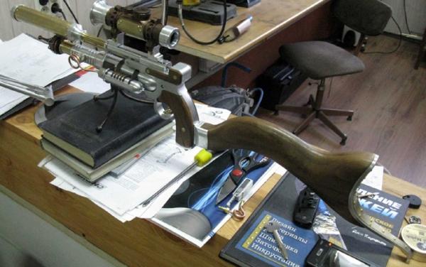ПневмоСтимПанк винтовка. (Фото 8)