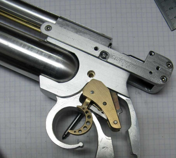 ПневмоСтимПанк винтовка. (Фото 6)