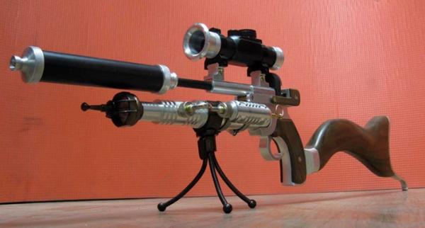 ПневмоСтимПанк винтовка. (Фото 3)