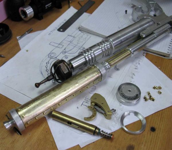 ПневмоСтимПанк винтовка. (Фото 7)