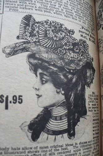 Женские шляпы из каталога sears 1908