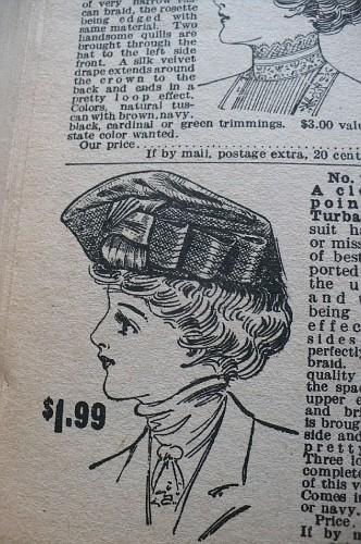 Женские шляпы из каталога sears 1908 (Фото 4)