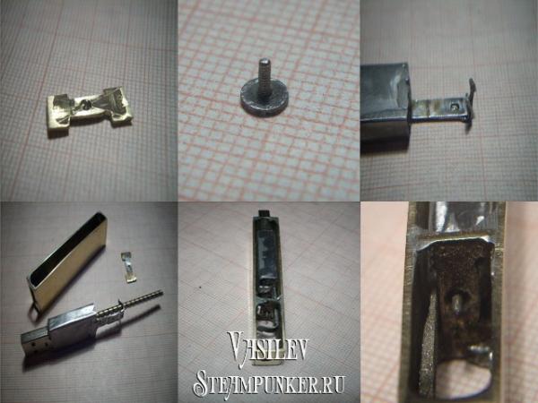 steampunk флешка