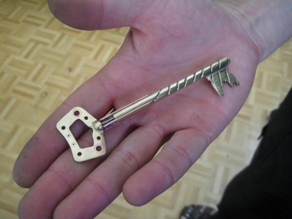 Ключ от квартиры, где деньги не лежат.