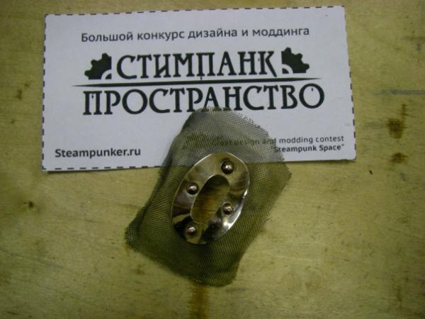 Мышка латунно-деревянная)) (Фото 8)