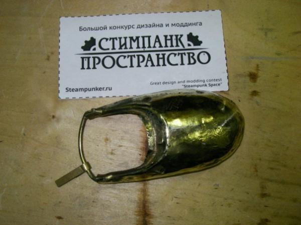 Мышка латунно-деревянная)) (Фото 6)