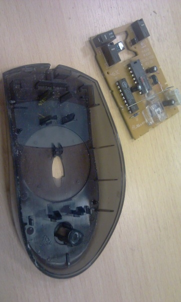 Мышка латунно-деревянная)) (Фото 2)