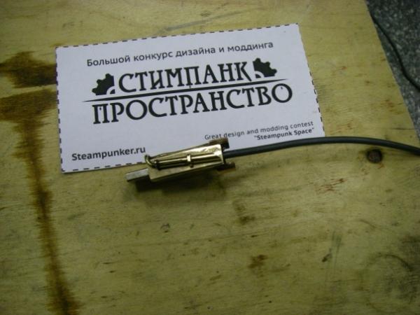 Мышка латунно-деревянная)) (Фото 12)