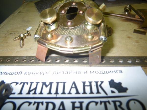 Мышка латунно-деревянная)) (Фото 21)