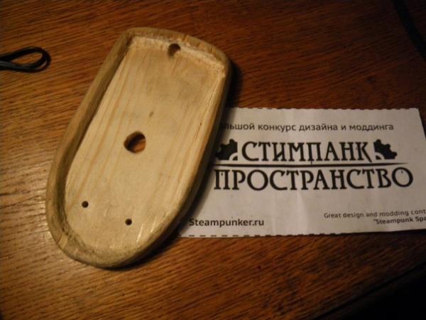 Мышка латунно-деревянная)) (Фото 17)