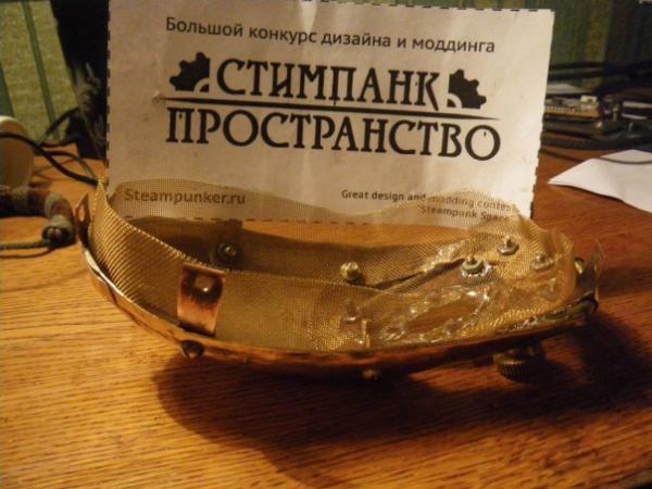Мышка латунно-деревянная)) (Фото 24)