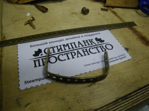 Мышка латунно-деревянная)) (Фото 18)