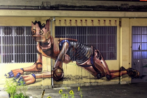 Pixel Pancho - наскальная живопись современности (Фото 2)