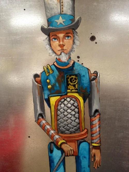 Pixel Pancho - наскальная живопись современности