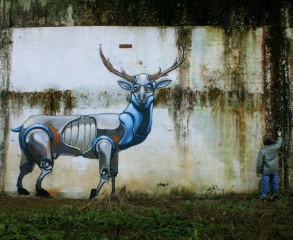 Pixel Pancho - наскальная живопись современности (Фото 6)