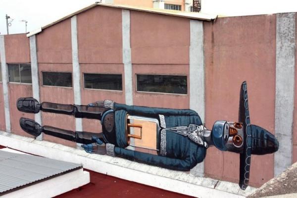 Pixel Pancho - наскальная живопись современности (Фото 5)