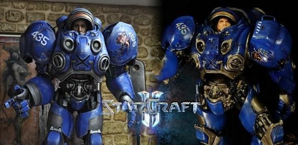 Космодесантник из Starcraft