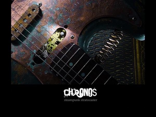 Гитара в стиле стимпанк (Фото 6)