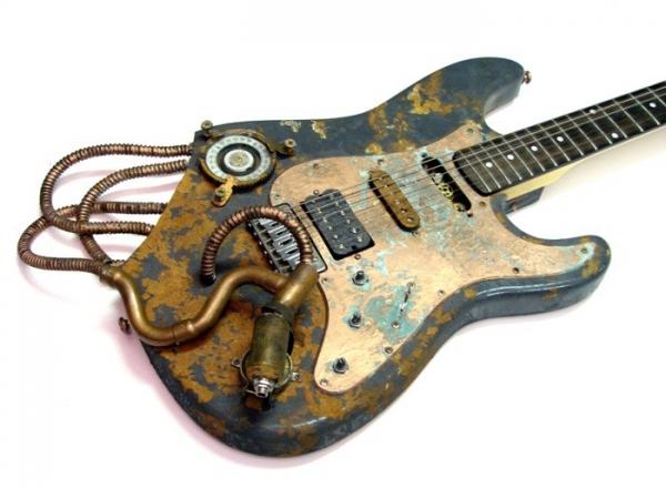 Гитара в стиле стимпанк (Фото 2)