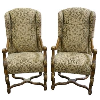 """Преимущественно английский стиль, или """"что могло бы украсить steampunk-интерьер?"""" Кресла. (Фото 19)"""