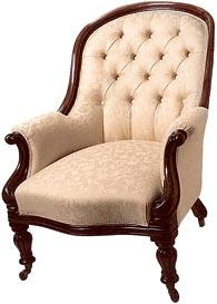 """Преимущественно английский стиль, или """"что могло бы украсить steampunk-интерьер?"""" Кресла. (Фото 6)"""