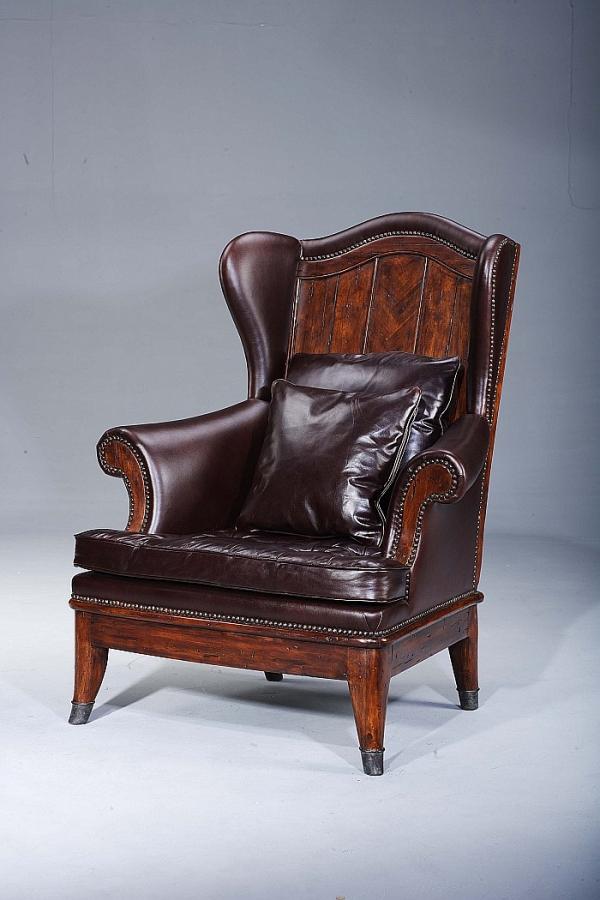 """Преимущественно английский стиль, или """"что могло бы украсить steampunk-интерьер?"""" Кресла. (Фото 14)"""