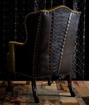 """Преимущественно английский стиль, или """"что могло бы украсить steampunk-интерьер?"""" Кресла. (Фото 3)"""