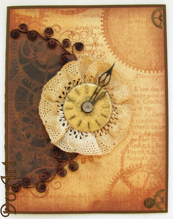 Steampunk and Quilling