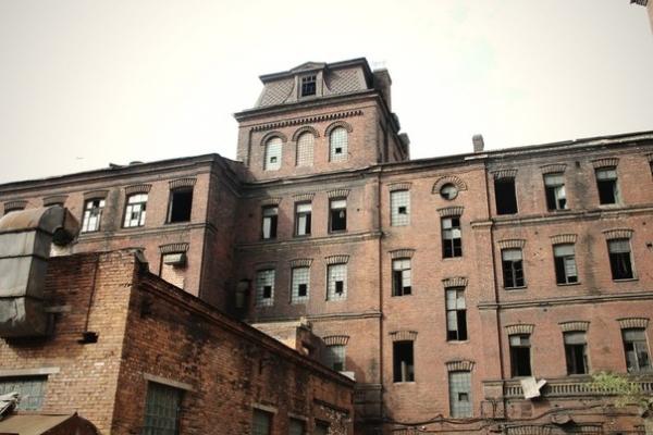 Промышленность 19 века: Завод Треугольник. часть 2.