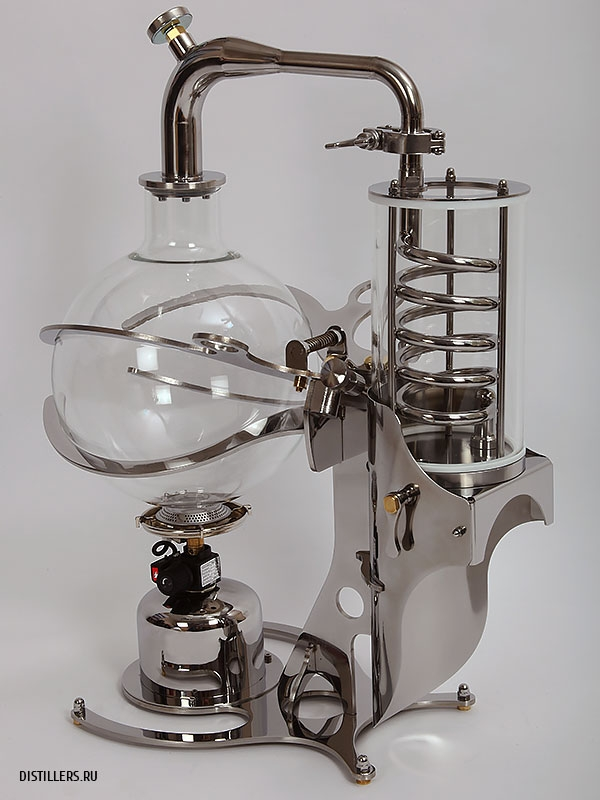 Стеклянный дистиллятор