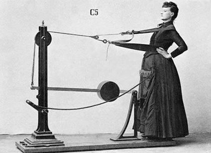 Винтажный спорт для леди