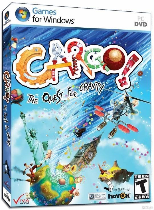 Cargo - The Quest For Gravity психо-игра,но с элементами нами всеми любимыми)))