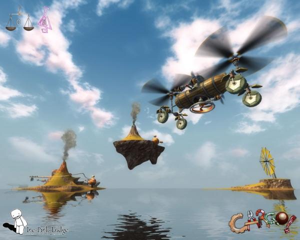 Cargo - The Quest For Gravity психо-игра,но с элементами нами всеми любимыми))) (Фото 3)