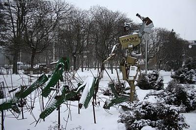 Робот Квазар отгоняет багов. (Фото 2)