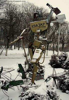 Робот Квазар отгоняет багов. (Фото 5)