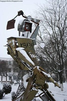 Робот Квазар отгоняет багов. (Фото 9)