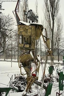 Робот Квазар отгоняет багов. (Фото 3)