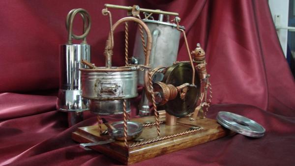 Двигатель Стирлинга Машинариум (Фото 9)
