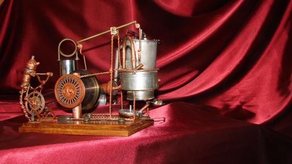 Двигатель Стирлинга Машинариум (Фото 2)