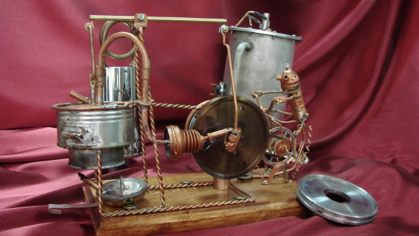Двигатель Стирлинга Машинариум (Фото 8)