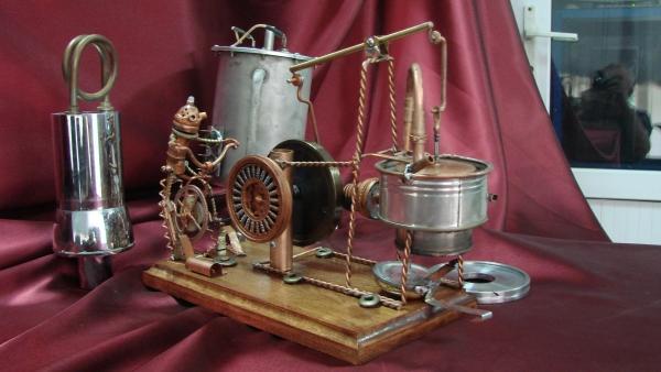 Двигатель Стирлинга Машинариум (Фото 5)